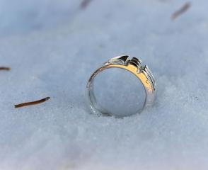 Atlantis Ring in the Snow