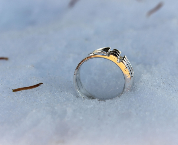 Atlantis Ring in the Snow