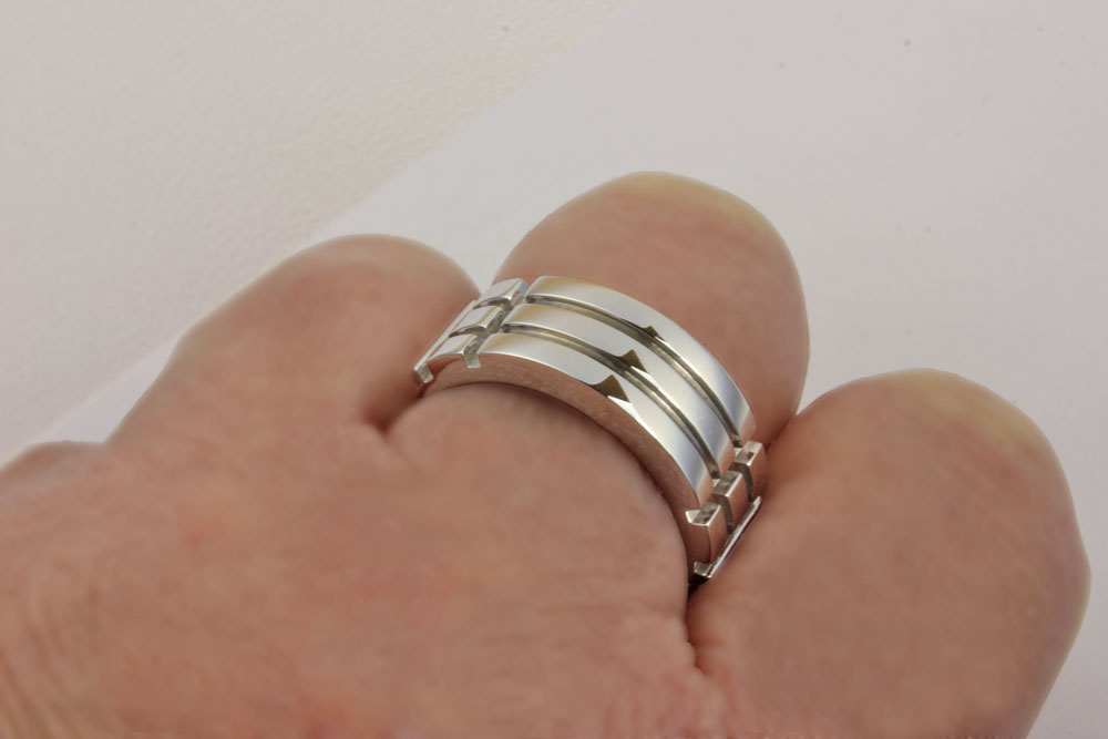 Atlantis Ring White Gold