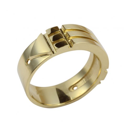 Atlantis Ring Solid Gold 18 K