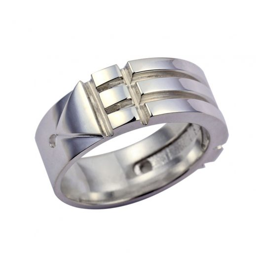 Atlantis Ring Pure Silver