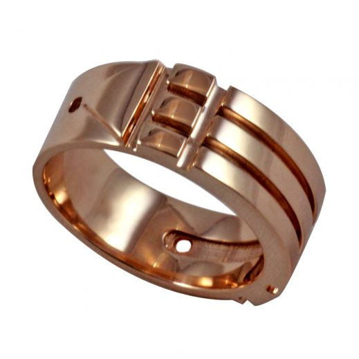 Atlantis Ring Pink Gold