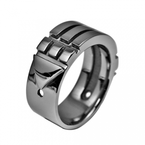 Atlantis Ring Stainless Steel