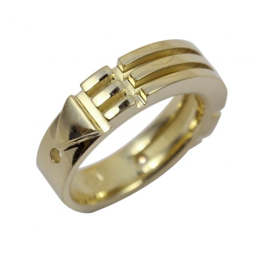 Atlantis Ring 10K Gold Narrow
