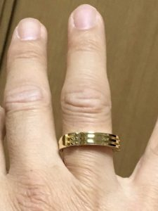 Yoshihiro Atlantis Ring 18K Gold - client review