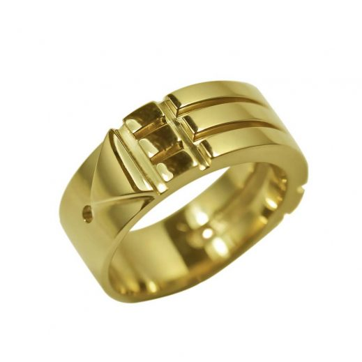 Atlantis Ring Yellow Brass Orichalc