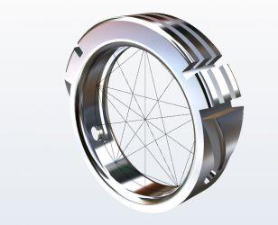 Atlantis Ring Golden Measurements