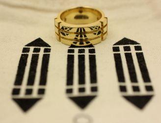 18K Gold Atlantis Ring